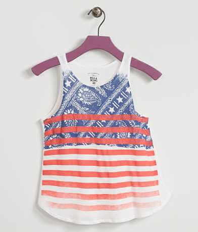 Girls - Billabong Paisley Flag Tank Top