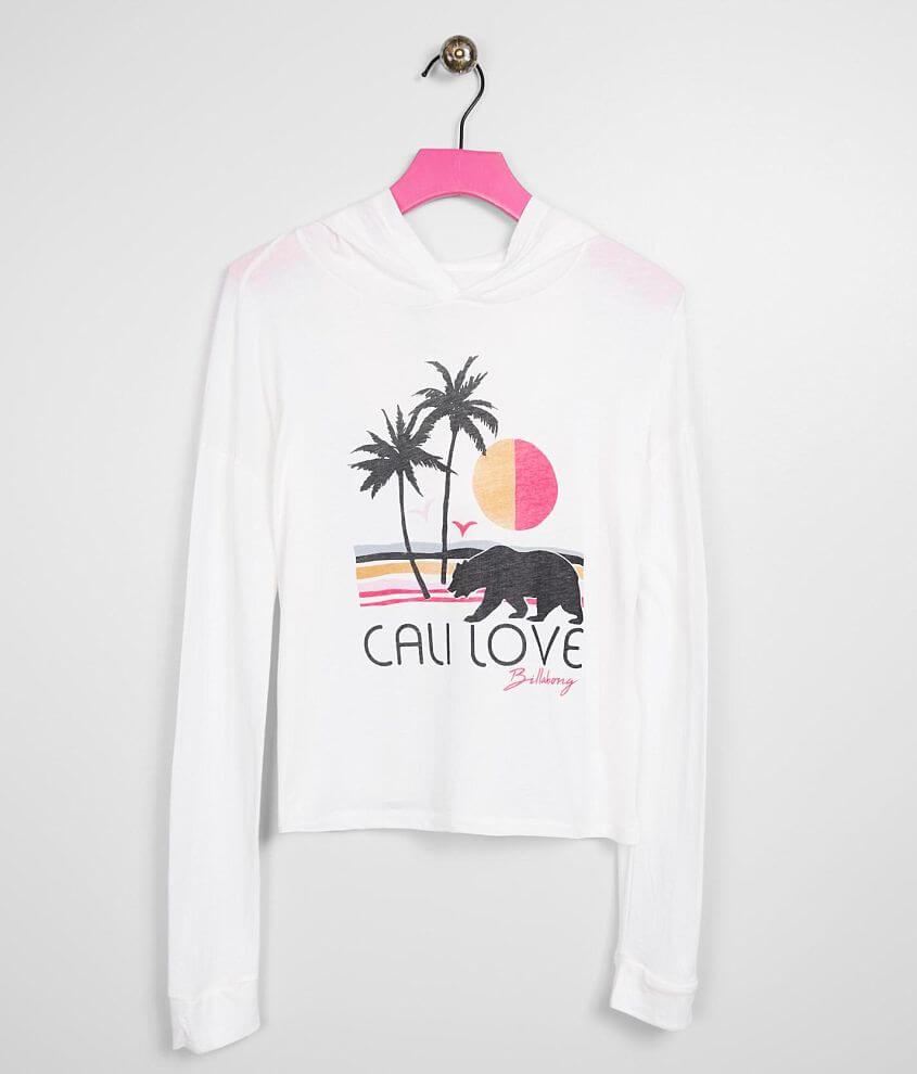 Girls - Billabong Cali Love Beach Hoodie front view