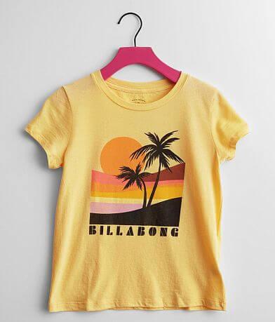 Girls - Billabong Retro Sunset T-Shirt
