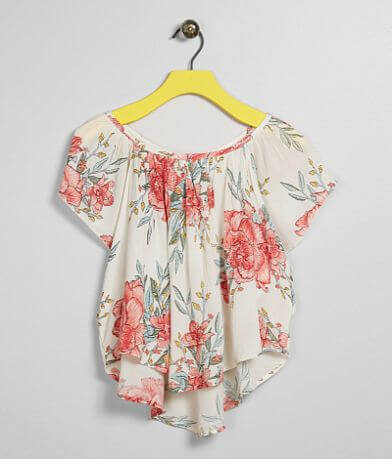 Girls - Billabong Floral Print Top