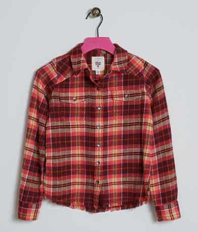 Girls - Billabong Plaid Shirt