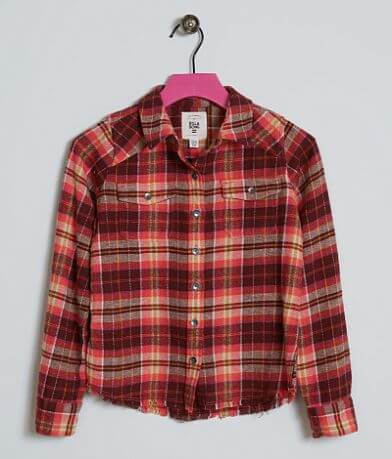 Girls - Billabong Plaid Shirt