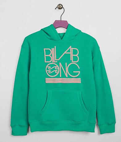 Girls - Billabong Neon Hooded Sweatshirt