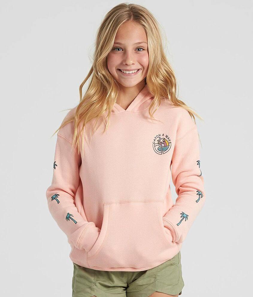 Girls - Billabong Catch A Wave Hooded Sweatshirt front view