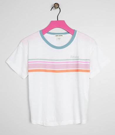 Girls - Billabong Seeing Stripes T-Shirt
