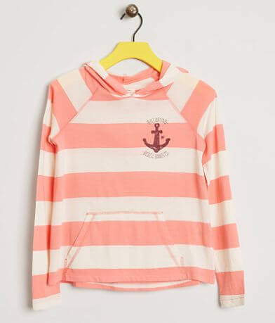 Girls - Billabong Striped Hoodie
