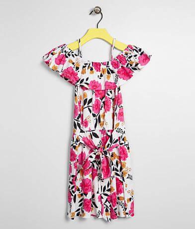 f9371736e997f Girls - Billabong Sun Dancer Cold Shoulder Dress