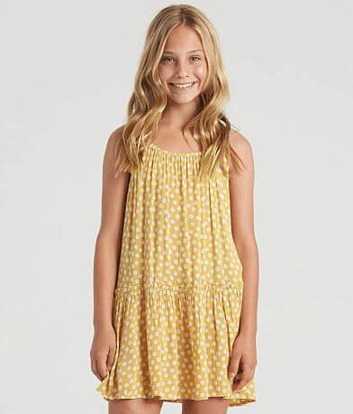Girls - Billabong Butterscotch Tiered Boho Dress
