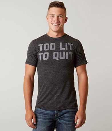 Buy Me Brunch Too Lit To Quit T-Shirt