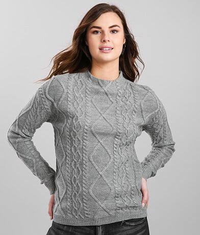 Love by Design Cable Knit Sweater