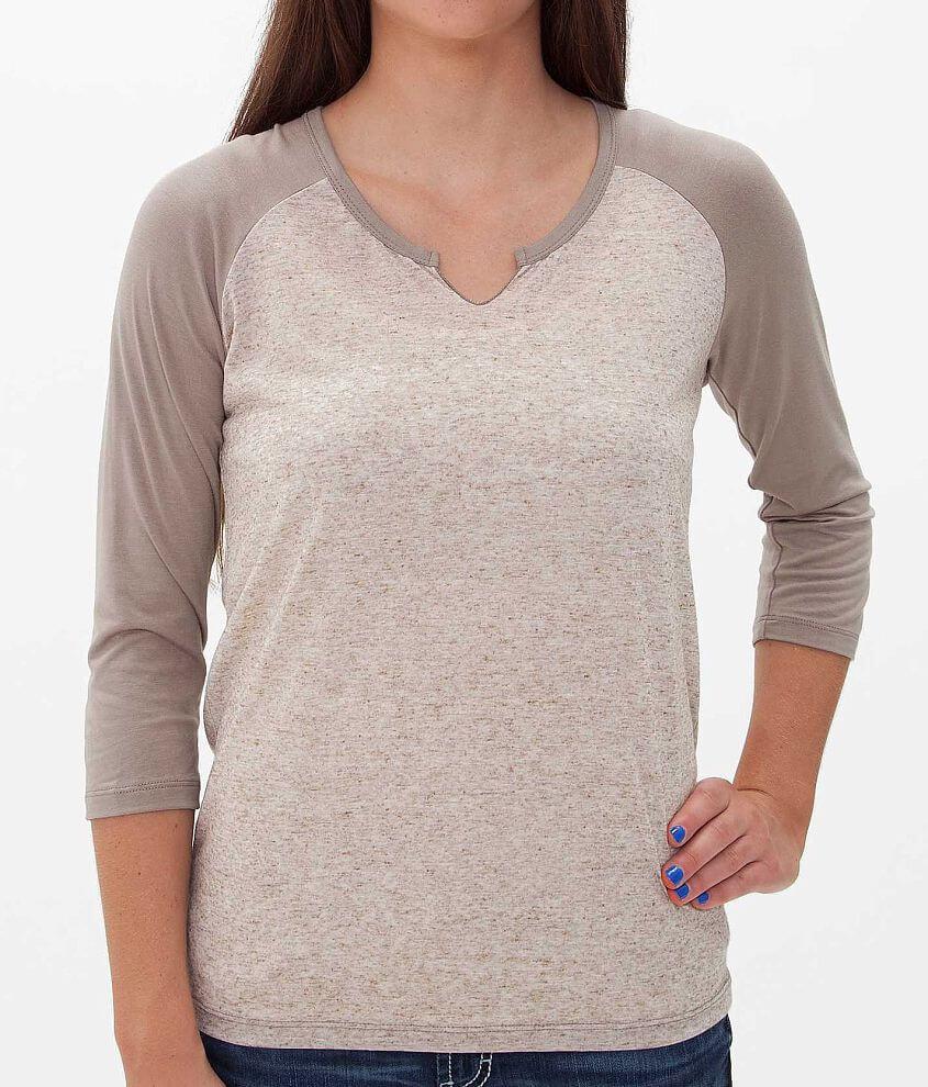 BKE core Raglan Sleeve T-Shirt front view