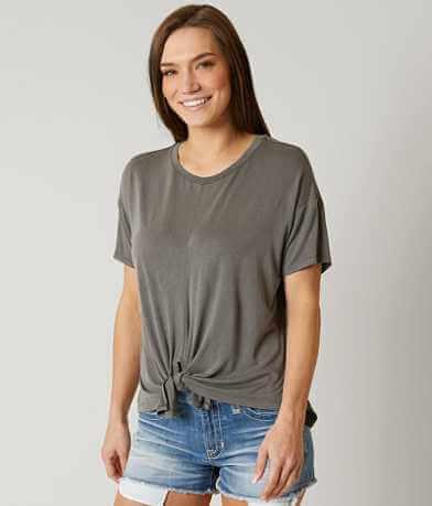 Emelia Front Tie T-Shirt