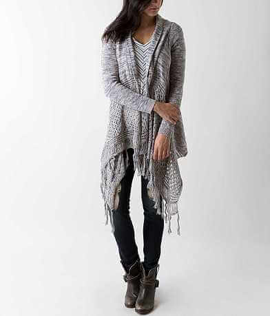 Daytrip Fringe Cardigan Sweater