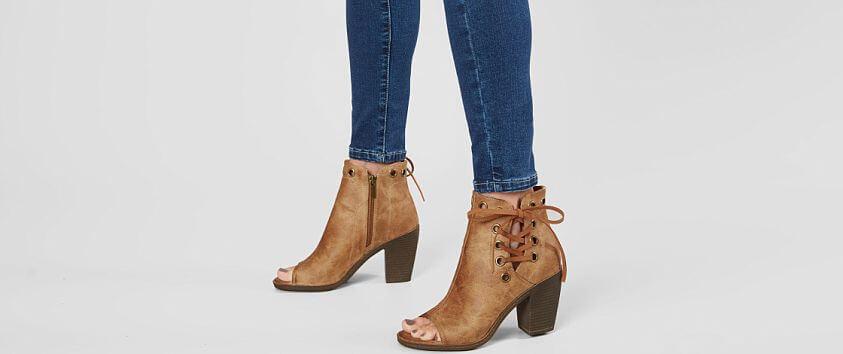 Vintage 93 Gina Peep Toe Heeled Sandal front view