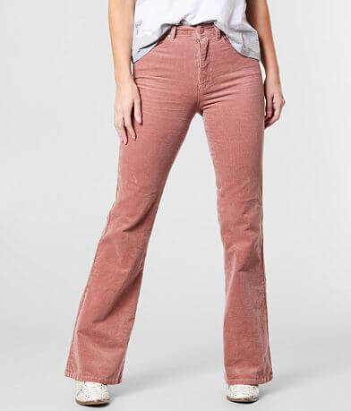 C'est Toi Corduroy High Rise Flare Stretch Pant