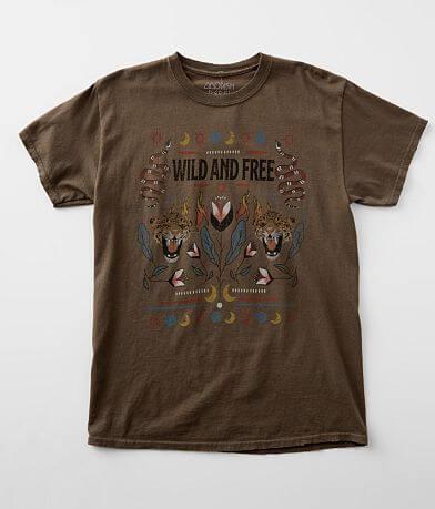 Modish Rebel Wild & Free T-Shirt