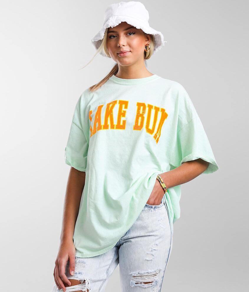 Modish Rebel Lake Bum T-Shirt front view