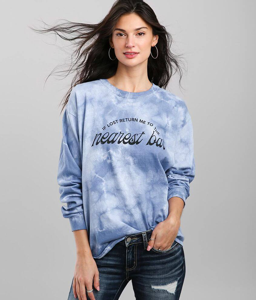 Modish Rebel If Lost Oversized T-Shirt front view