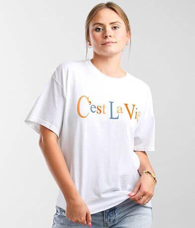 Modish Rebel C'est La Vie T-Shirt