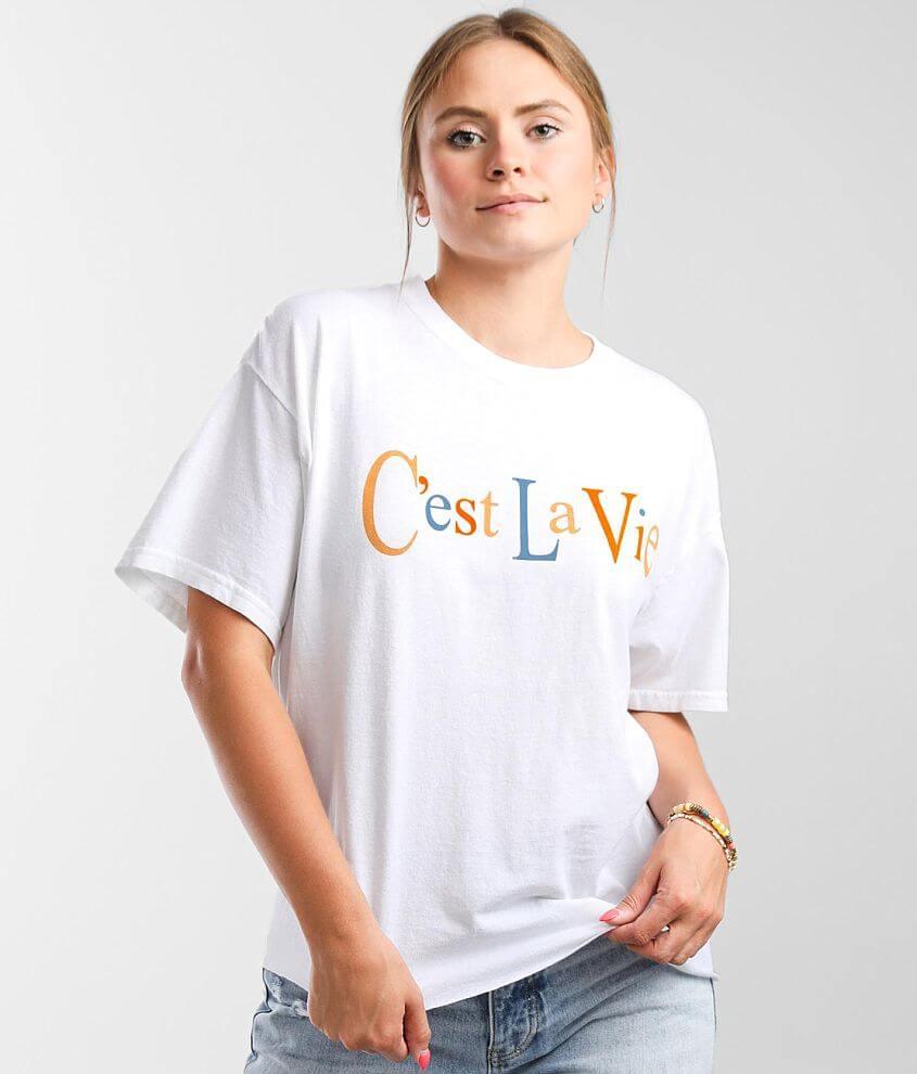 Modish Rebel C'est La Vie T-Shirt front view