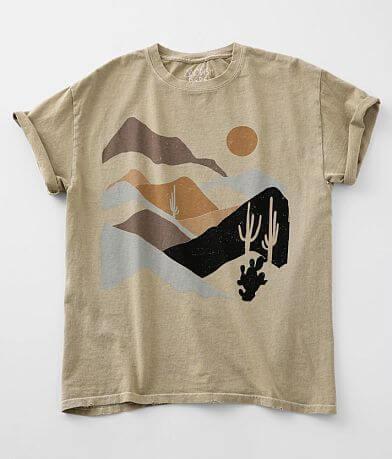 Modish Rebel Mountain Cactus T-Shirt