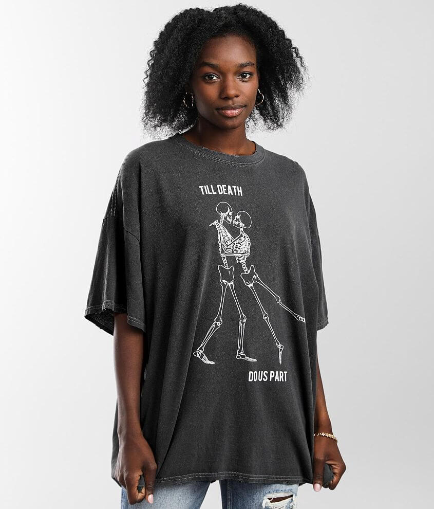Modish Rebel Till Death T-Shirt - One Size front view