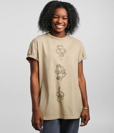 Modish Rebel Snake T-Shirt