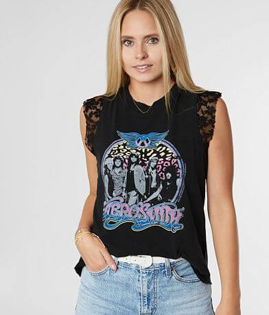 The Vinyl Icons Aerosmith Band Tank Top