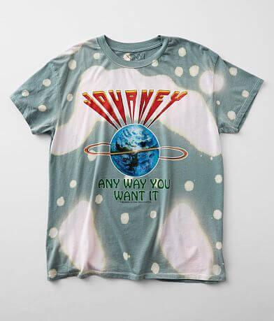 The Vinyl Icons Journey Oversized Band T-Shirt