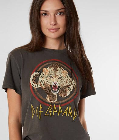The Vinyl Icons Def Leppard Band T-Shirt