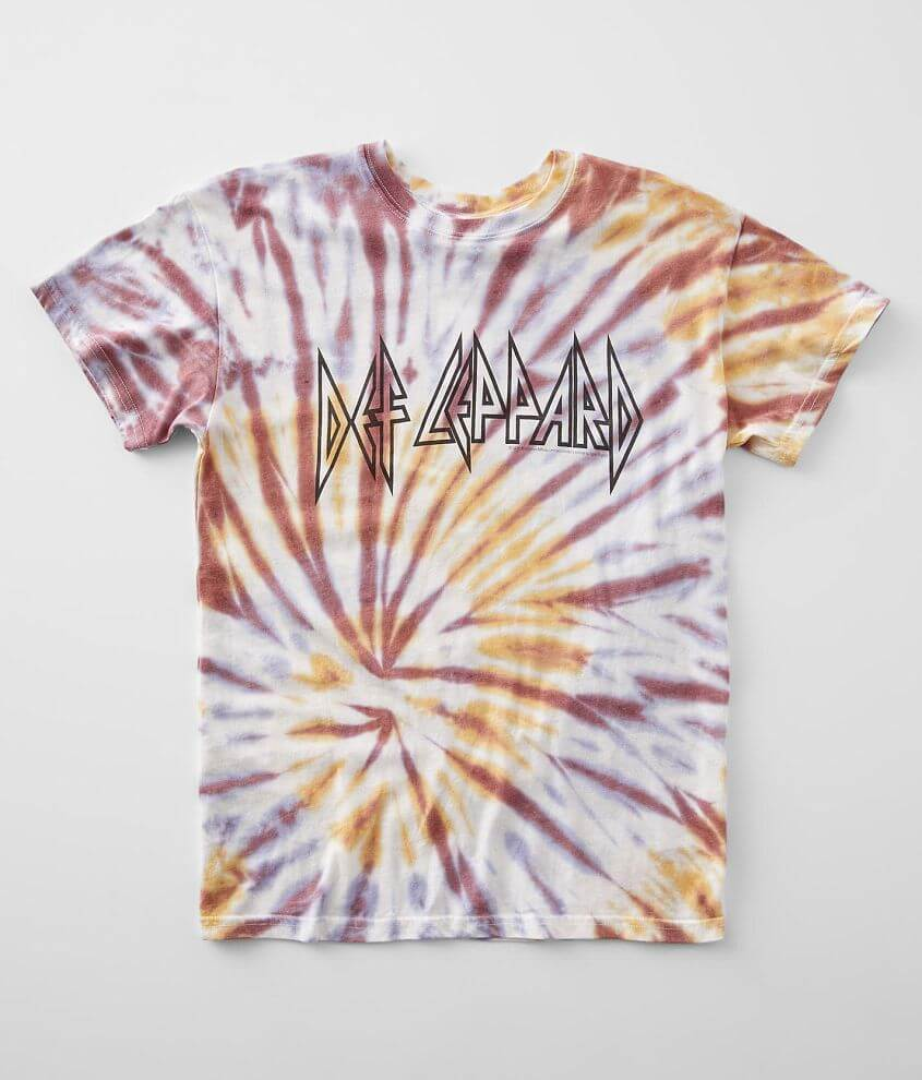 Vinyl Icons Def Leppard Oversized Band T-Shirt front view