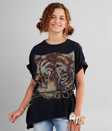 Modish Rebel Oversized Tiger T-Shirt