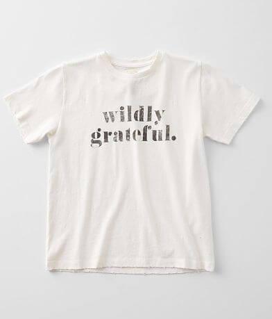 Girls - Modish Rebel Wildly Grateful T-Shirt