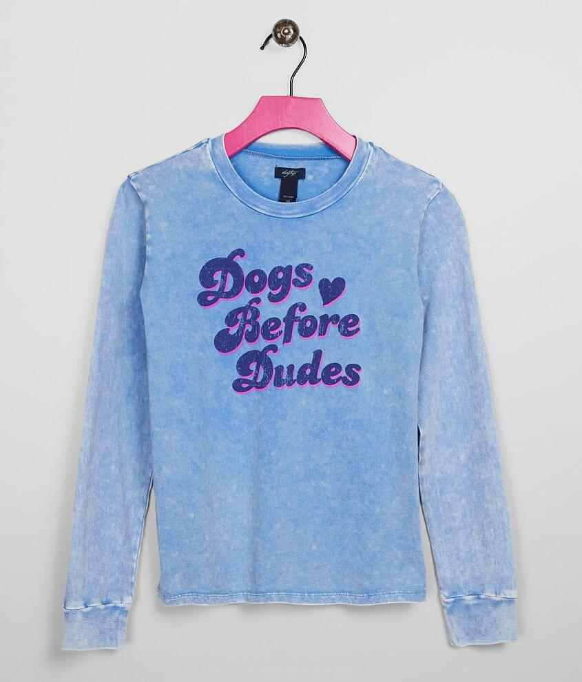 Girls - Daytrip Dogs Before Dudes T-Shirt front view