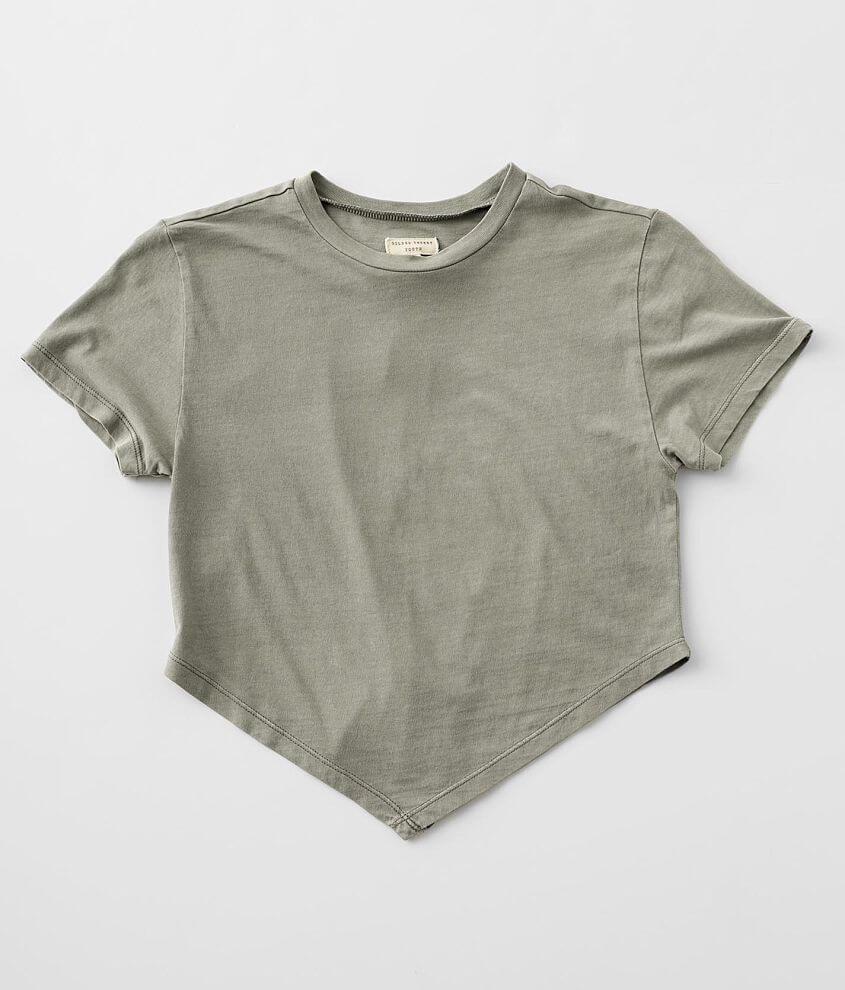 Girls - Gilded Intent Handkerchief T-Shirt front view