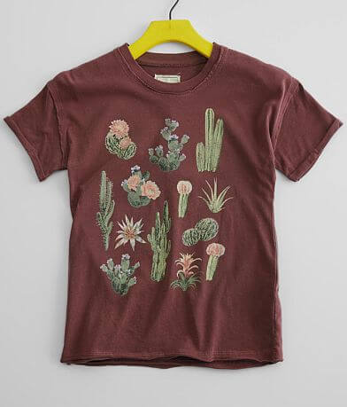 Girls - Modish Rebel Cactus T-Shirt