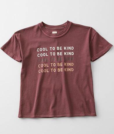 Girls - Modish Rebel Cool To Be Kind T-Shirt