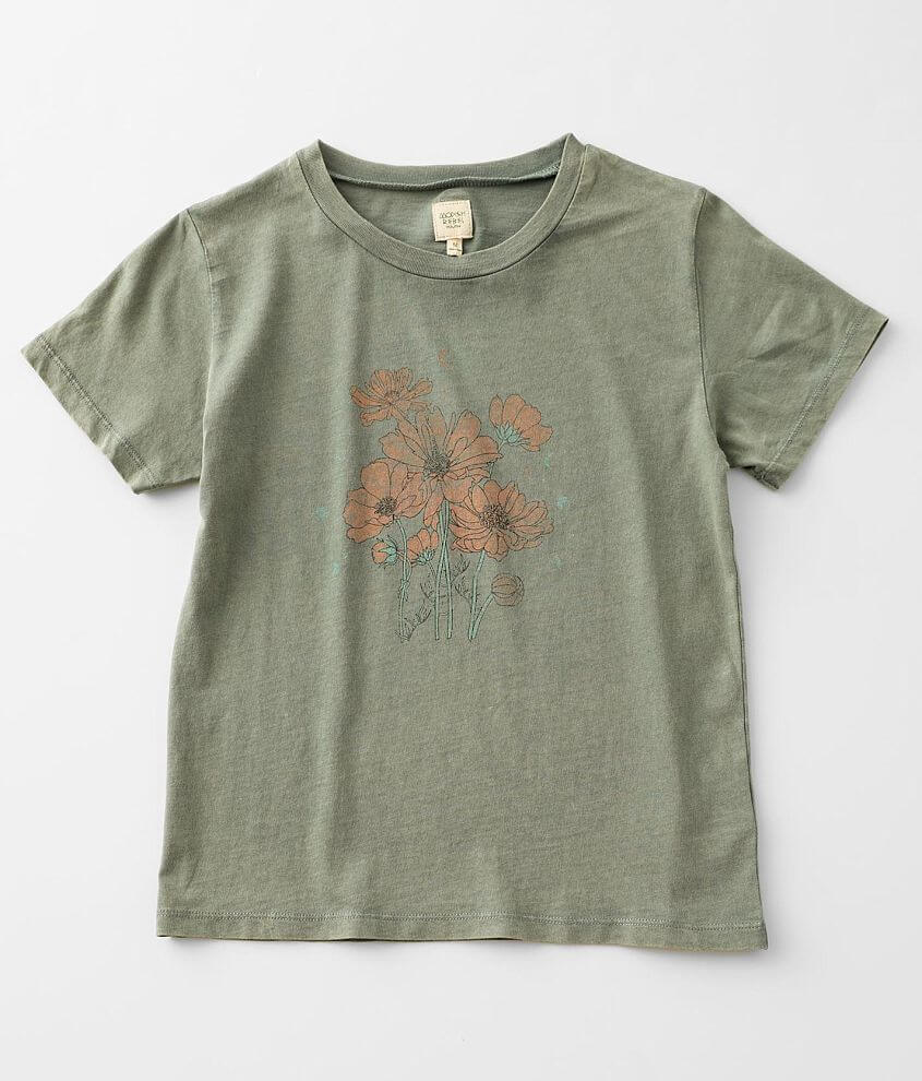 Girls - Modish Rebel Peace In Nature T-Shirt front view