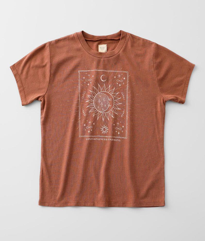 Girls - Modish Rebel Mystical Life T-Shirt front view
