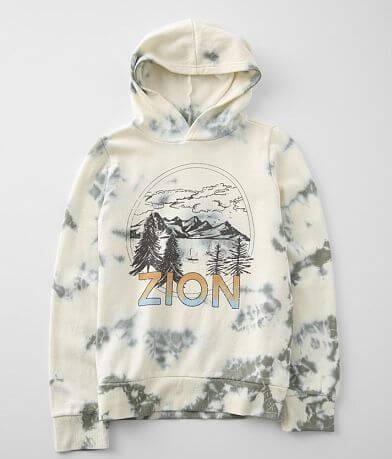 Girls - Modish Rebel Zion Hooded Sweatshirt