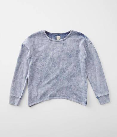 Girls - Modish Rebel Acid Washed Pullover