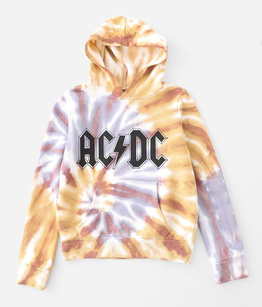 Girls - The Vinyl Icons AC/DC Hooded Sweatshirt front view