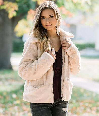 Willow & Root Faux Fur Jacket