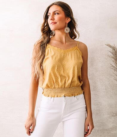 Willow & Root Dainty Daisy Tank Top