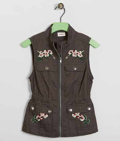 Girls - Daytrip Floral Vest