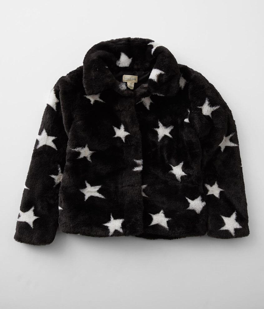Girls - Jake & Anna® Faux Fur Jacket front view