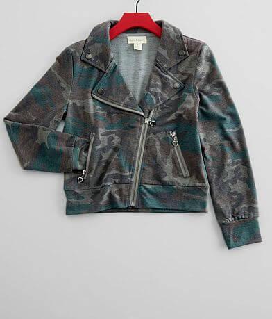 Jake & Anna® Washed Camo Jacket