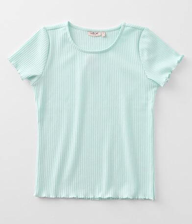 Girls - Willow & Root Ribbed Top