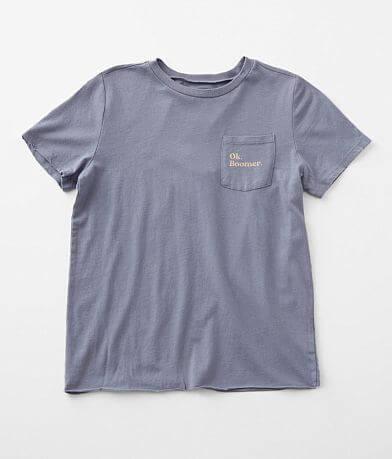Girls - Modish Rebel Ok Boomer T-Shirt