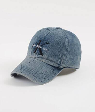Calvin Klein Denim Paint Hat